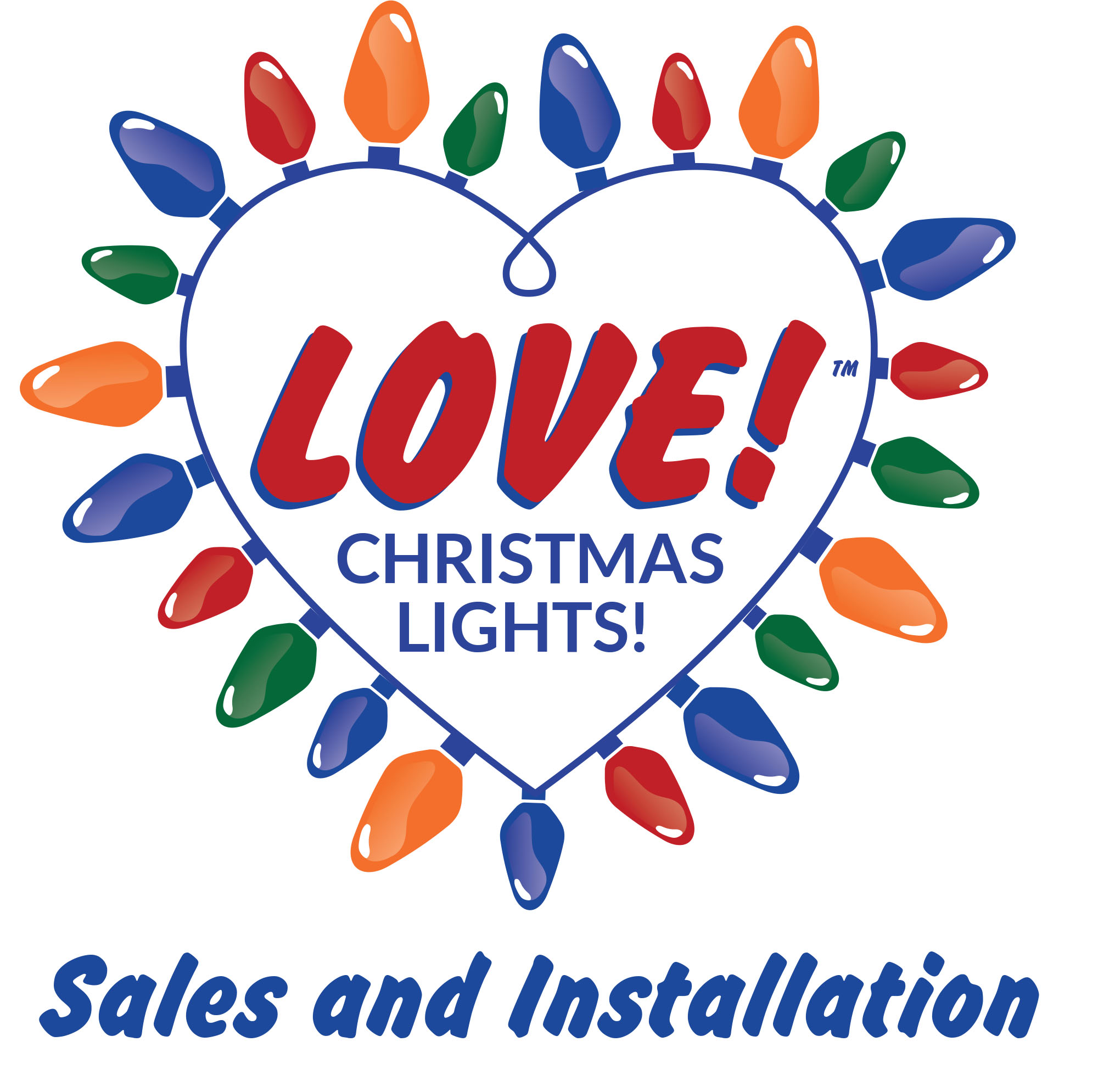 LOVE! Christmas Lights! Sales & Installation